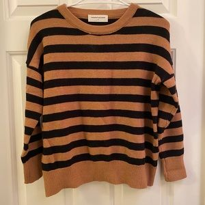 Striped Goodnight Macaroon sweater, size S